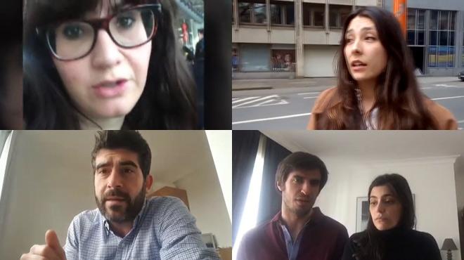 Testimonios espa�oles de los atentados de Bruselas.