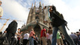 Un 80% dels turistes que van a la Sagrada Família només en visiten l'exterior