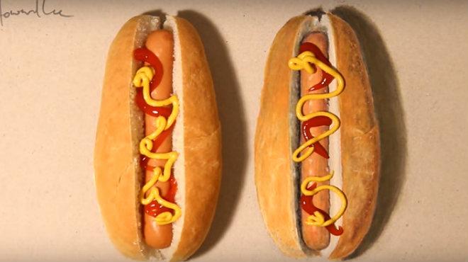 Una decena de trampantojos visuales creados por el artista hiperrealista Howard Lee.
