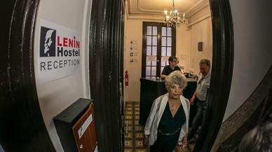 Lenin resiste en esta Barcelona de Monopoly