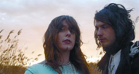 Los dos integrantes de Beach House, Victoria Legrand y Alex Scally, en una imagen promocional.