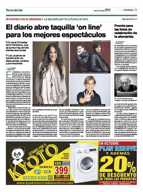 El diario abre taquilla 39 on line 39 para los mejores for Espectaculos internacionales de hoy