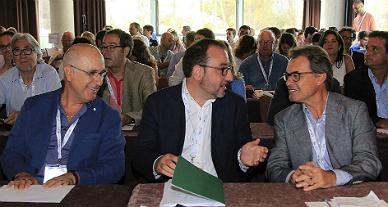 Duran, Espadaler y Mas, en el Consell Nacional.