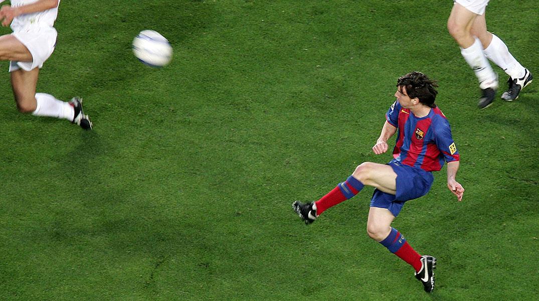 El tanto que marc� el delantero argentino el 1 de mayo del 2005 ante el Albacete.