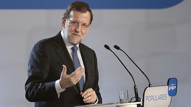 """Rajoy augura """"como m�nimo"""" 1 mill�n de puestos de trabajo entre el 2014 y el 2015."""