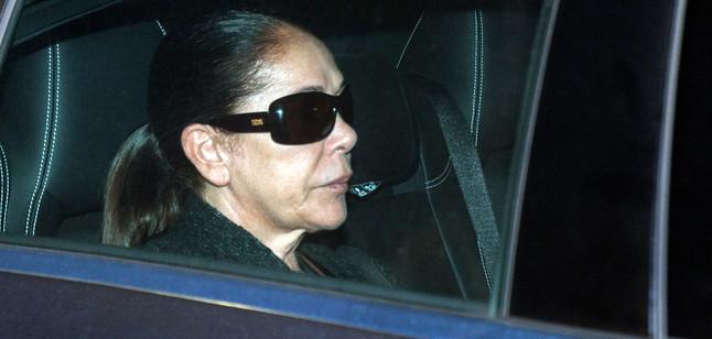 Isabel Pantoja, el 21 de noviembre, cuando ingresó en prisión.