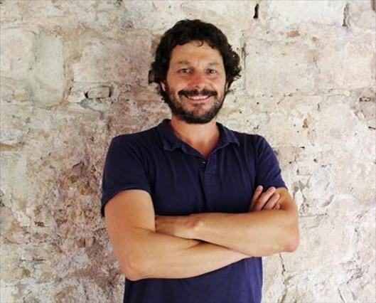 Alfredo Olivera, impulsor de La Colifata, el pasado viernes, en el convento de San Agustí.