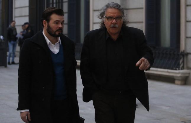 Joan Tardà y Gabriel Rufián llegan al Congreso