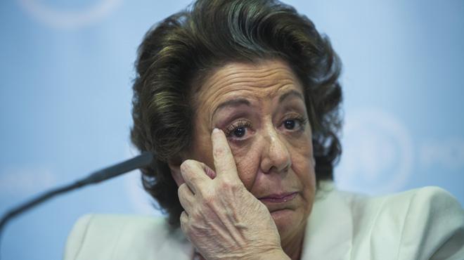 El juez del caso Imelsa de corrupción da 20 días a Rita Barberá para que declare voluntariamente
