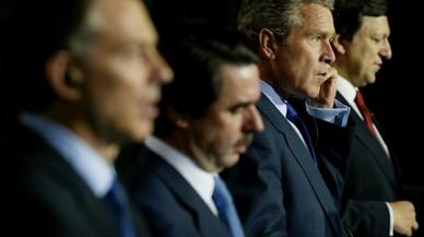 El Senat rebutja la compareixença d'Aznar per la guerra de l'Iraq