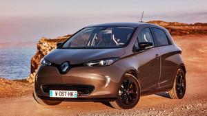 Nuevo Renault Zoe, con casi 400 kilómetros de autonomía.