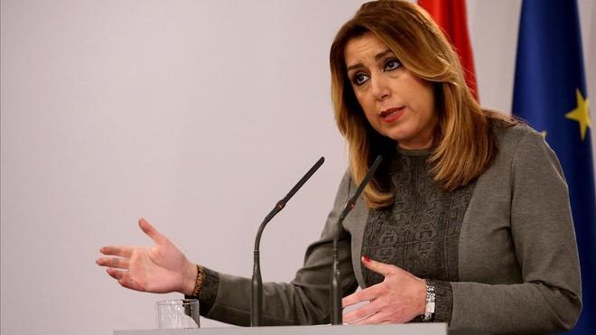 Susana Díaz, sobre Pedro Sánchez: Él sabe que cuando me necesite, ahí estoy