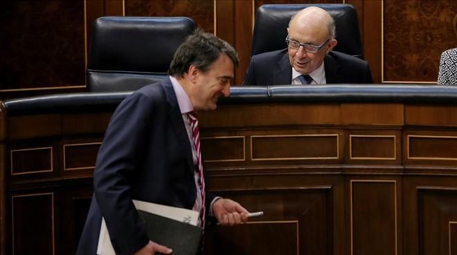 El botín vikingo del PNV, Rajoy y el 155