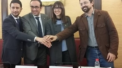 Santa Coloma firma un convenio con Incasòl para urbanizar parte del barrio del Fondo