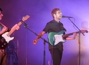 Actuaci�n del grupo Manel en el Festival de Cap Roig en Calella de Palafrugell.