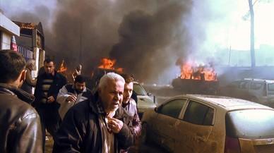 Un camión bomba causa decenas de muertos en el norte de Siria