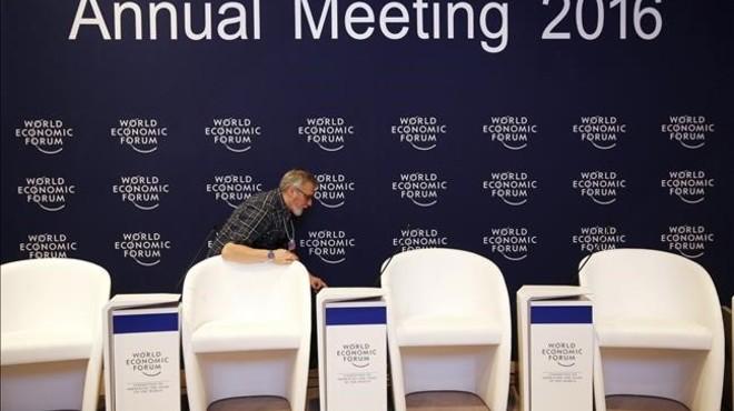 Drons sobre Davos