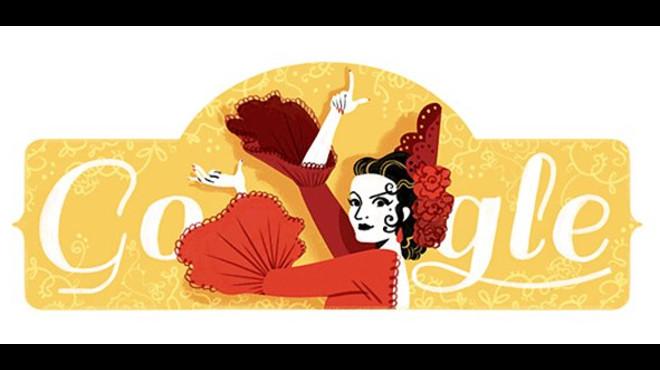 Homenatge de Google a Lola Flores pel 93 aniversari del naixement de la 'cantaora'