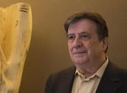 El escritor Luis Landero, en su reciente visita a Barcelona.