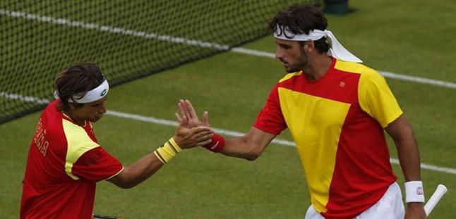 Ferrer y Feli se quedan sin medalla al caer ante los franceses Gasquet y Benneteau