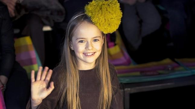 Kristina Pimenova, la niña más guapa del mundo, ya es modelo profesional