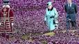 Florit homenatge d'Isabel II als excombatents britànics