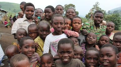 El éxodo de la guerra olvidada del Congo