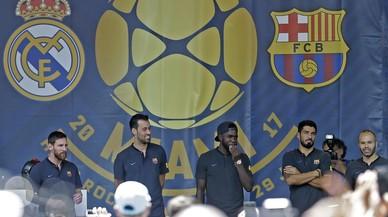 Iniesta i Suárez demanen a Neymar que es pronunciï