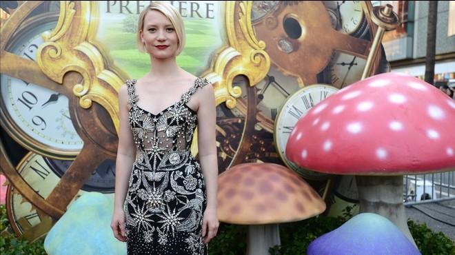 Mia Wasikowska, en el estreno de 'Alicia a trav�s del espejo' en Los �ngeles, el 23 de mayo.