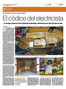El c dice del electricista Electricistas santiago de compostela