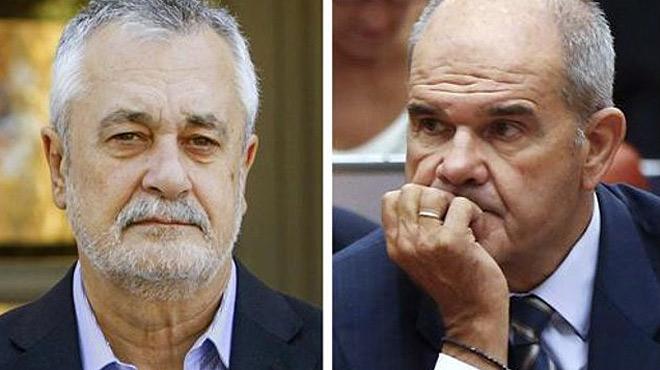 El jutge dels ERO obre judici oral contra Chaves i Griñán
