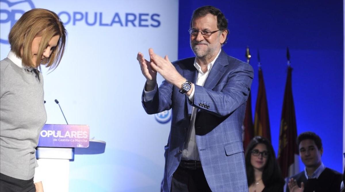 "Rajoy: ""Voy a seguir luchando por España, no me voy a rendir nunca"""