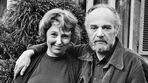 Maxie Wander, con su marido, Fred.