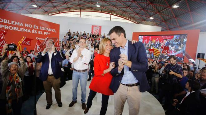 """Pedro Sánchez: """"L'únic percentatge que a Mas li importa és el 3%"""""""