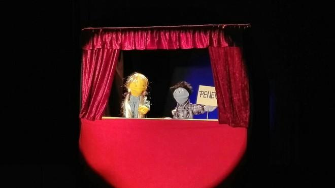 Una imagen de los nuevos personajes del 'show' de TV-3 'Pol�nia'.