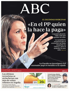 El PP se debate entre tapar los sobresueldos de Bárcenas o investigarlos, titula 'El Mundo'