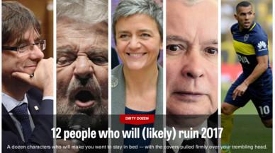 """Puigdemont, entre les 12 persones que """"arruïnaran el 2017"""" segons 'Politico'"""