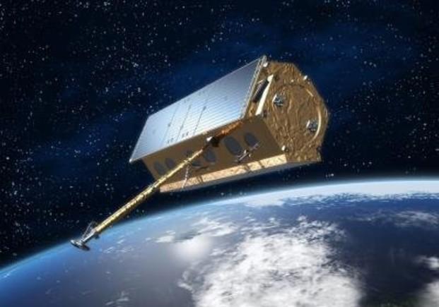Recreación del satélite PAZ.