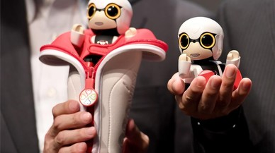 El robot Kirobo Mini.