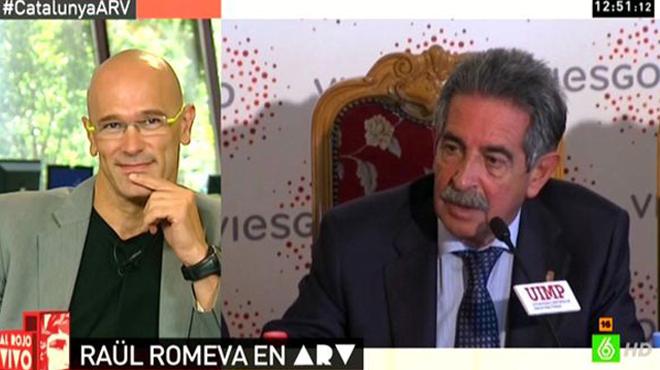 Romeva, Revilla y el Ebro.