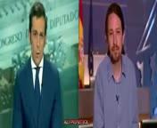 Trifulca de Pablo Iglesias en Antena 3.