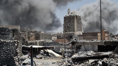El Estado Islámico, acorralado en sus feudos de Irak y Siria