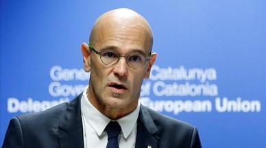 """Romeva diu a Brussel·les que Espanya actua com """"un estat repressor"""""""