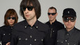 El grupo Primal Scream, con Bobby Gillespie, segundo por la izquierda.