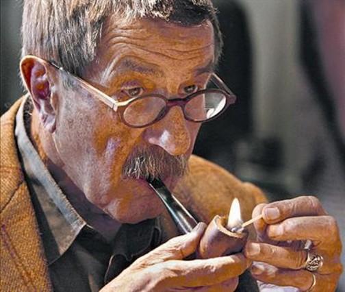 Günter Grass, en la feria del libro de Fráncfort del año 2006.
