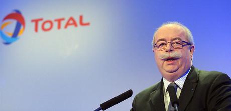 Christophe de Margerie, durante una conferencia en Par�s, en el 2011.
