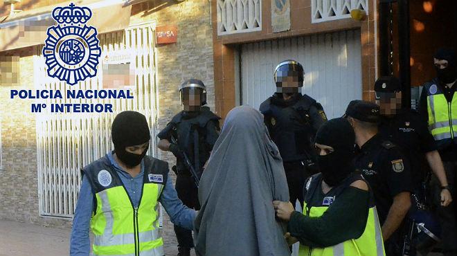 Diez detenidos en Espa�a y Marruecos por terrorismo islamista