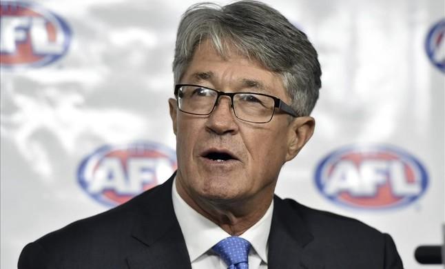Mike Fitzpatrick, presidente de la Liga de Fútbol Australiana