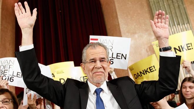Els ecologistes guanyen la presidència d'Àustria a la ultradreta en l'últim moment