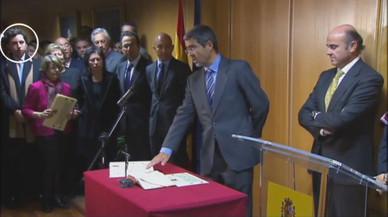 El 'petit Nicolás' es va colar el 2011 en la presa de possessió de Jiménez Latorre com a secretari d'Estat